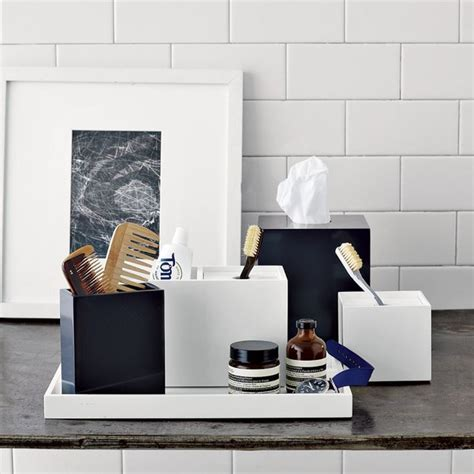 west elm bathroom accessories lacquer bath accessories modern bathroom accessories