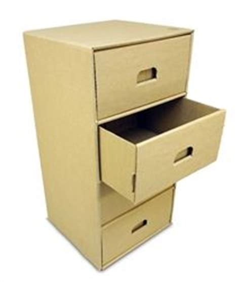 Cardboard Drawer Unit by Diy Cardboard Box Storage These Are Cardboard Drawer