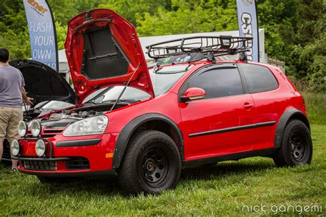 volkswagen rabbit truck lifted vw mk5 golf rabbit truck sowo 2013 southern worthersee