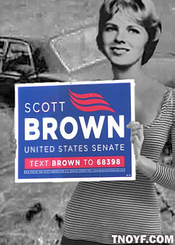 Chappaquiddick Jokes Jo Kopechne Endorses Brown For Ted Kennedy S Senate Seat Letters To A Dying