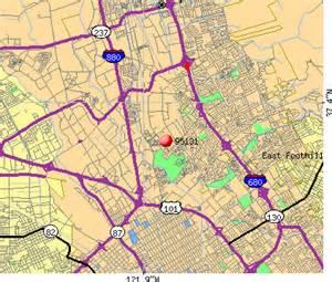 San Jose Zip Code Map by 95131 Zip Code San Jose California Profile Homes