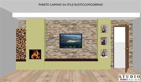 pareti con camino parete camino 2 dress your home