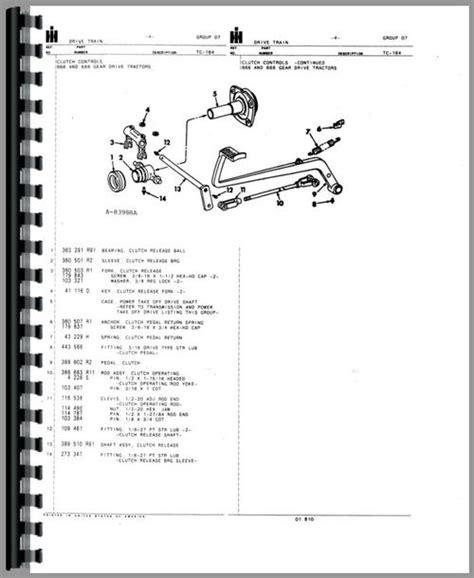ih parts diagram ih 1456 wiring diagram honda motorcycle repair diagrams