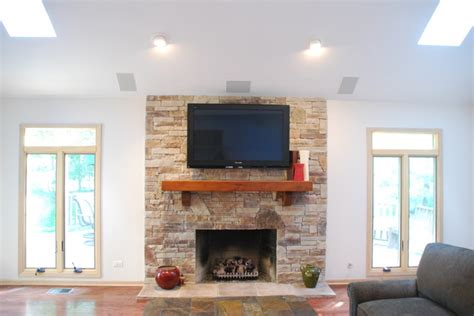 drywall designs living room drywall update traditional living room chicago by