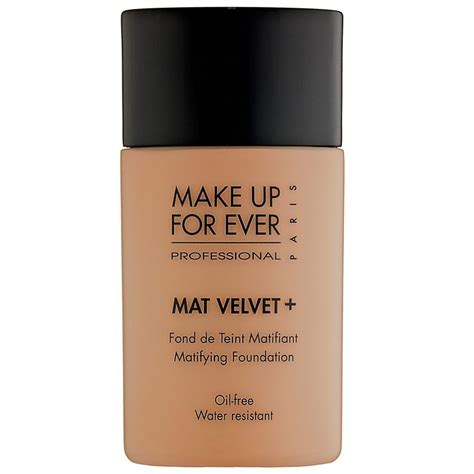 Makeup Forever Mat Velvet make up for mat velvet matifying foundation no 77