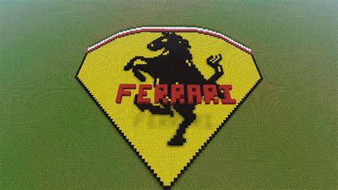 Ferrari Symbol by Ferrari Emblem Symbol Minecraft Project