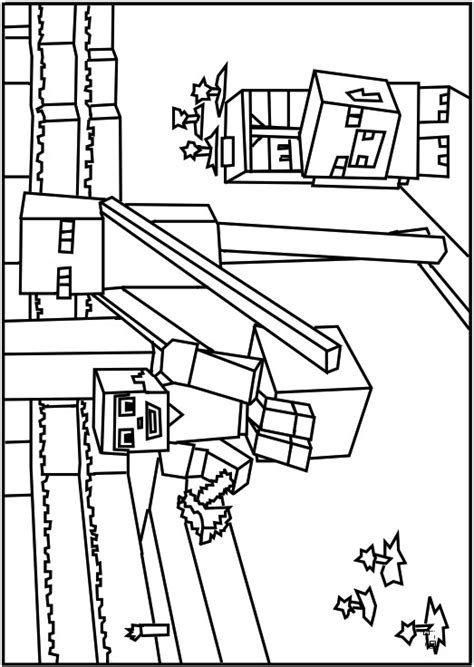 enderman free colouring pages