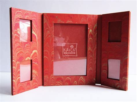 Handmade Photoframes - desktop handmade paper photo frame by kavin crafts photo