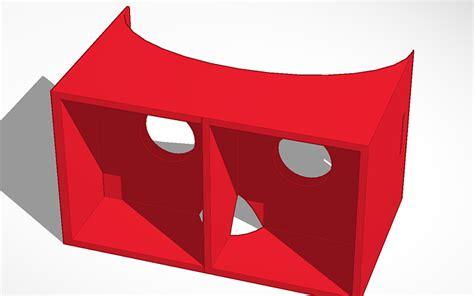 design for google cardboard 3d design google cardboard tinkercad