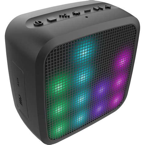 Led Light Speakers by Jam Trance Mini Led Bluetooth Light Show Speaker Hx P460 B H