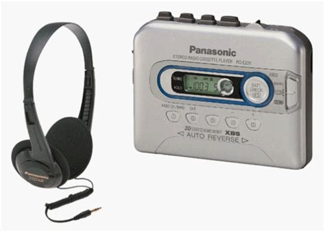 cassette player portable panasonic portable cassette player for sale only 4 left