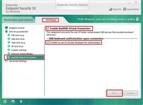 reset kaspersky to default settings change kaspersky settings to allow usb devices it services