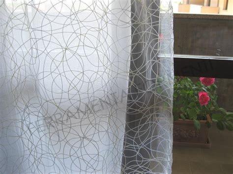 lunghezza tende coppia tende minni 2 teli doppi per finestra con asole