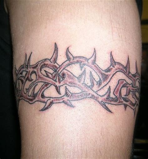 thorn tattoo crown of thorns tattoos designs ideas and meaning