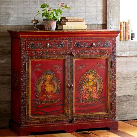 hand painted indian cabinets 17 best images about furniture art on pinterest hand