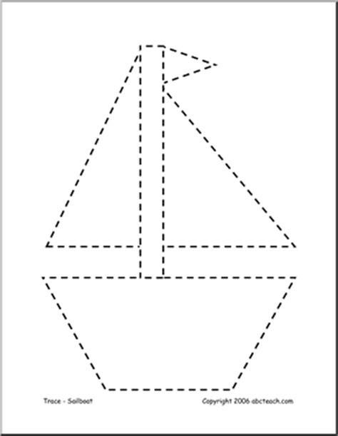 12 best images of sail boat printable shapes worksheets