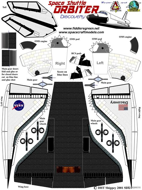 Papercraft Space Shuttle -