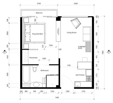 layout of twin room in hotel stefilia anindita hartono interior design wix com