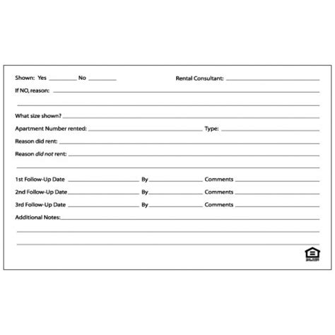 guest card template apartments property management guest cards