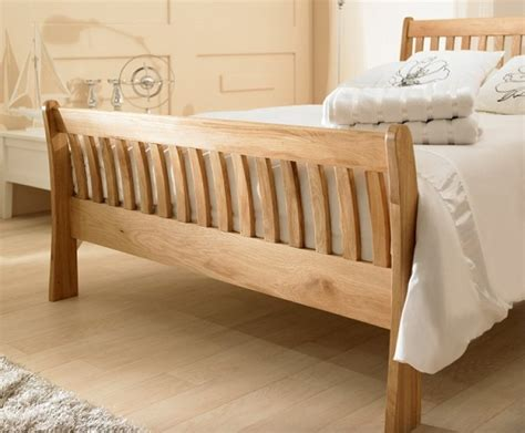 Oak Frame Bed Emporia 4ft6 Solid Oak Bed Frame By Emporia Beds