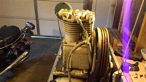 kellogg  air compressor serial  youtube