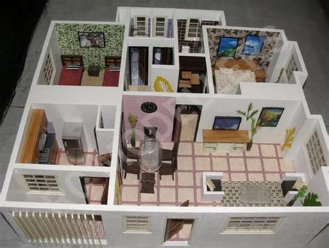 interior house model doll house interior model in tughlakabad new delhi manufacturer