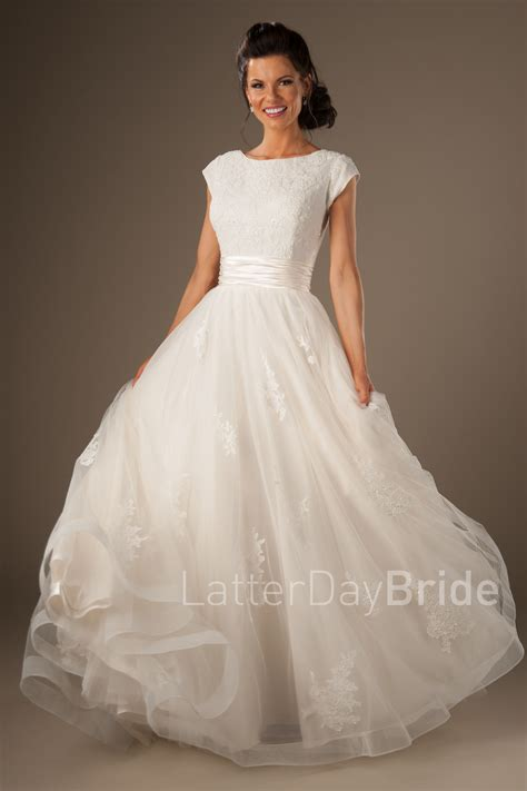 Modest Wedding Dresses by Modest Wedding Gowns Lorelai