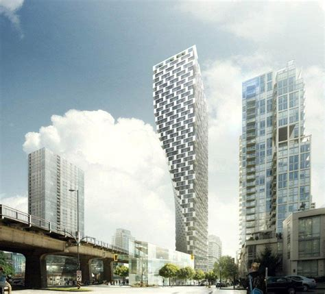 High Rise Floor Plans big architects beach howe tower vancouver
