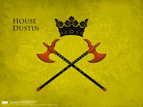 House Dustin Game Of Thrones Wallpaper 38505261 Fanpop
