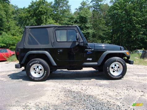 1997 Jeep Sport Black 1997 Jeep Wrangler Sport 4x4 Exterior Photo