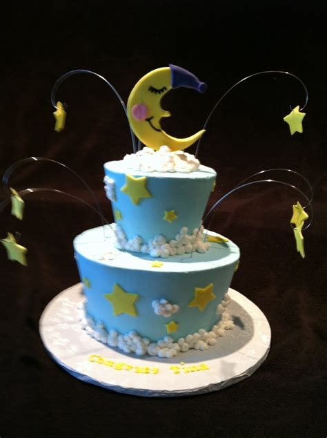 Moon And Baby Shower by Moon And Baby Shower Cake Baby Ethan