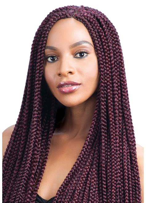 long latch hook braids model model glance braid long medium box braid crochet