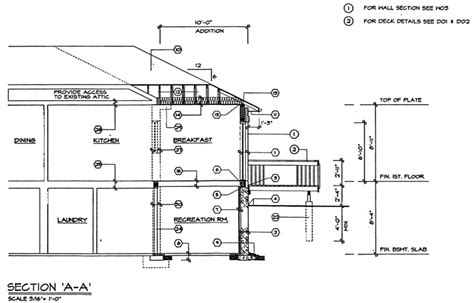 section drawing of a house cross section house drawing quotes