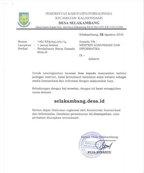 tahapan pendaftaran domain desa id bralink id