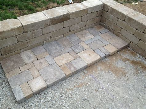 build paver patio diy backyard paver patio outdoor oasis tutorial the