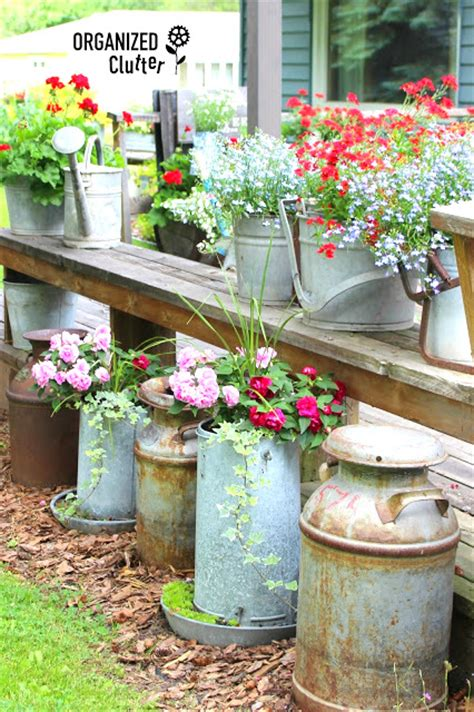 Funky Garden Decor Diy Salvaged Junk Projects 340funky Junk Interiors