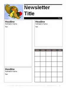 november newsletter template education world november parent newsletter template