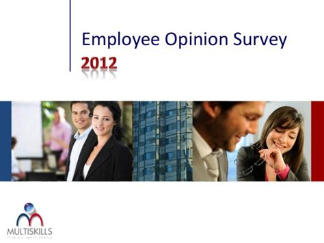 Opinion Survey - why employee opinion survey