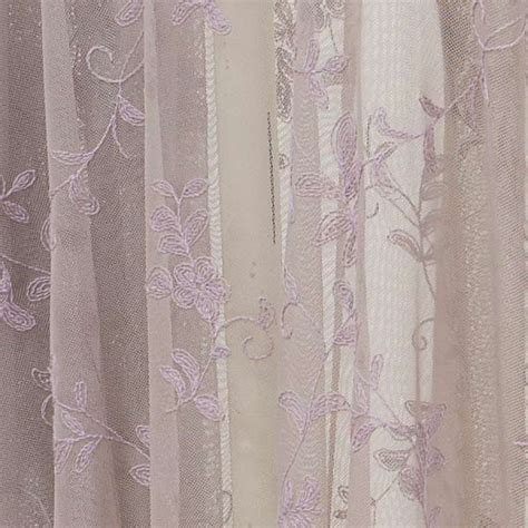 lace curtain panel emily mcguinness paloma posie embroidered lace curtain