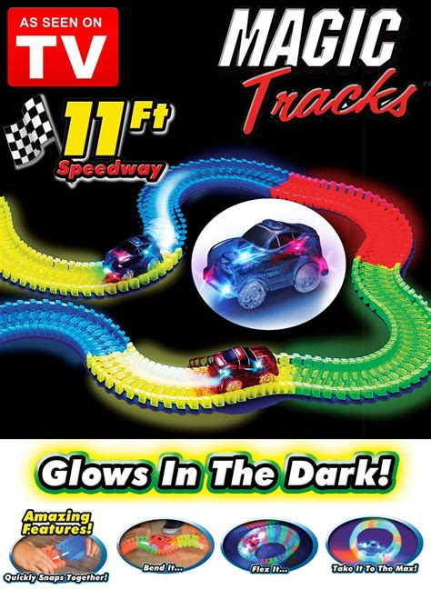 light up race track as seen on tv magic tracks as seen on tv carolwrightgifts com