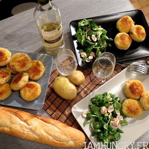 Croquette De Mozzarella by Croquettes De Pommes De Terre Et Coeur De Mozzarella