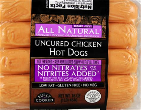 uncured dogs trader joe s uncured chicken dogs reviews trader joe s reviews archive