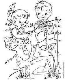summer coloring pages for adults summer coloring pages fishing 11