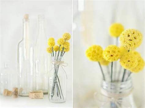 mimosa in vaso regali per la festa della donna fai da te con tutorial
