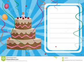 birthday card invitation template invitations templates