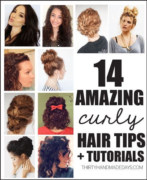 14 Tips For Curling Hair by 14 Amazing Curly Hair Tips Tutorials