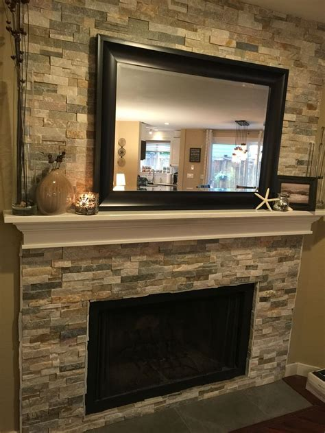 Flawless Fireplace Refacing Ideas Gallery