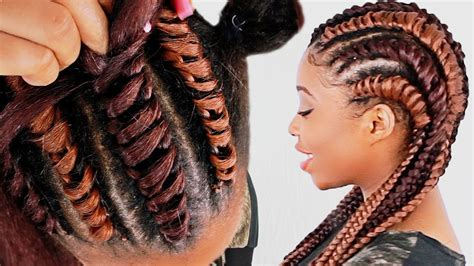 Hairstyle Book For Beginners by How To Tree Braid Cornrows For Beginners Step By Step