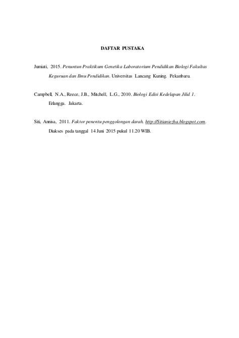 Biologi Cbell Reece Jilid 3 Edisi Kedelapan praktikum genetika alel ganda