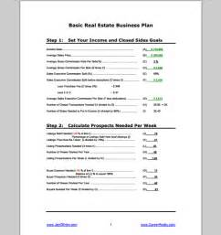 real estate business plan template real estate business plan template sle templates